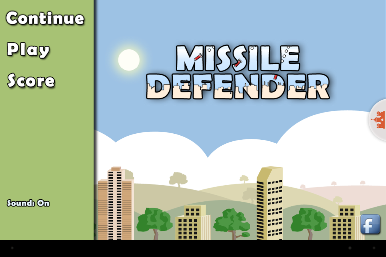 Missile Defender - screenshot