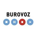 Burovoz grabar llamadas icon