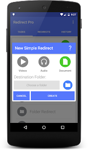 Redirect File Organizer - screenshot thumbnail