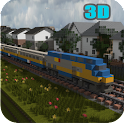 Train Simulator mine city free icon