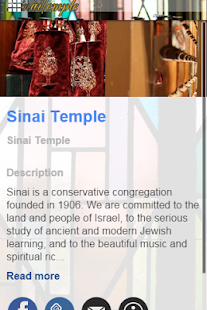 Sinai Temple- screenshot thumbnail