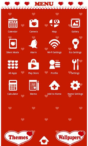 Cute Wallpaper Polka Hearts 1.0.0 Windows u7528 3