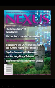 Nexus Magazine - screenshot thumbnail