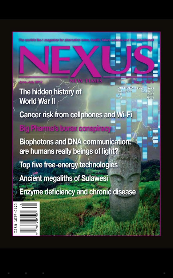 Nexus Magazine - screenshot