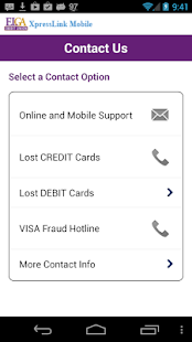 ELGA Xpresslink Mobile Banking - screenshot thumbnail