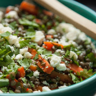 Carrot and Lentil Salad.