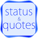 Status Quotes For FB, Whatsapp icon