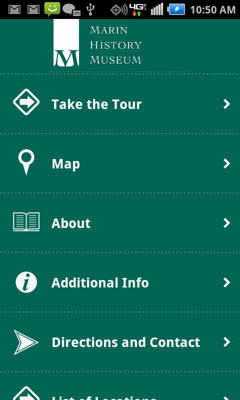 Marin History Museum - screenshot
