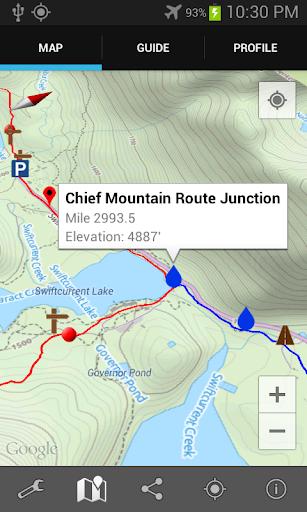 Guthook's CDT Guide: N.Montana