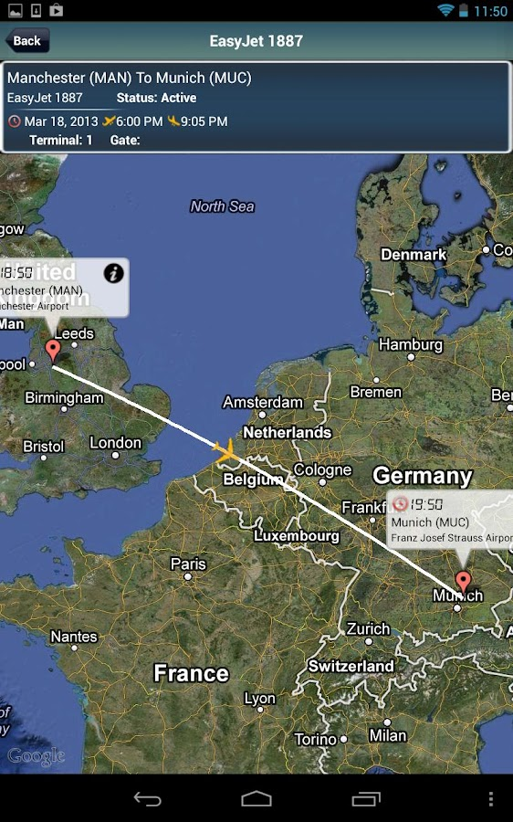 Munich Airport +Flight Tracker - screenshot