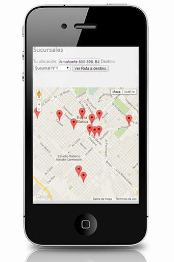 Sucursales GPS