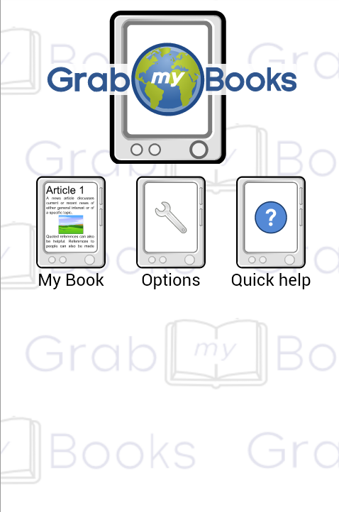 GrabMyBooks- screenshot