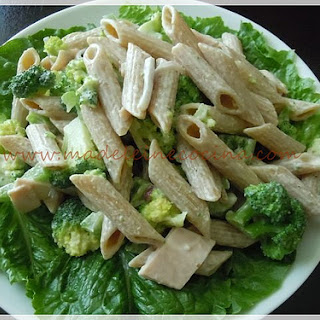 Broccoli and Ham Pasta Salad.