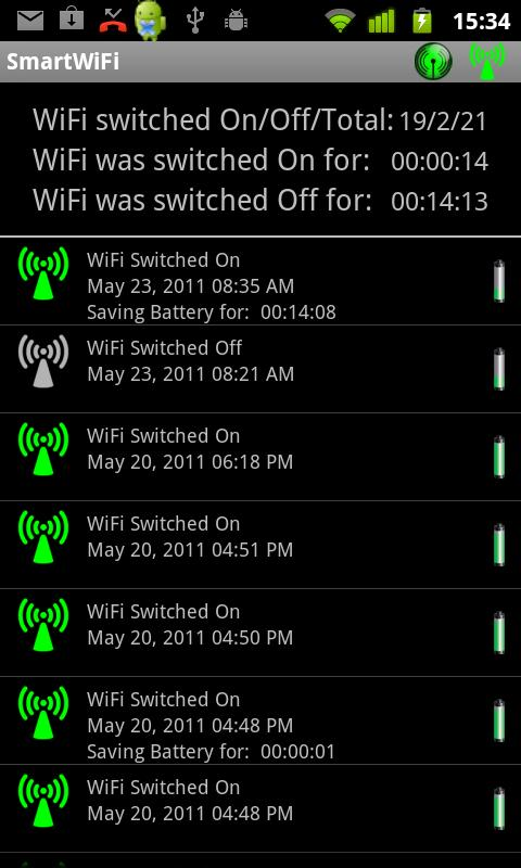 Smart WiFi - screenshot