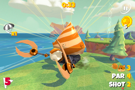 Boom Boom Hamster Golf Screenshot 2