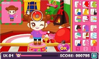 Screenshot of Judy's X-mas Present-Dress Up