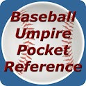Baseball Umpire Pocket Ref icon
