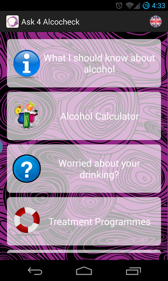 Ask 4 Alcocheck- screenshot