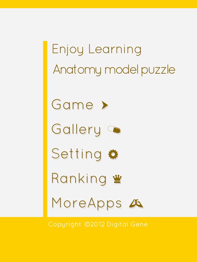 Enjoy Learning Anatomy puzzle- screenshot