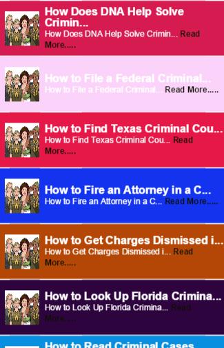 Criminal Case guide