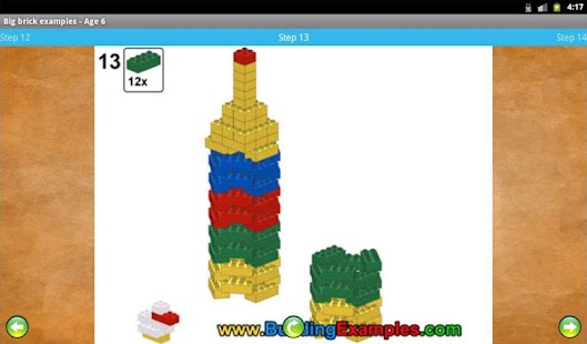 Big brick examples - Age 6- screenshot thumbnail