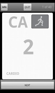 Card Cardio Screenshot