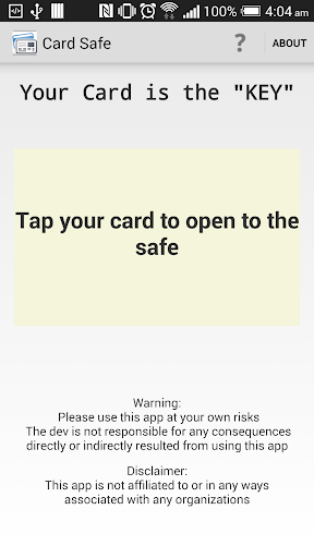 Card Safe