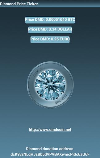 Diamond DMD price ticker