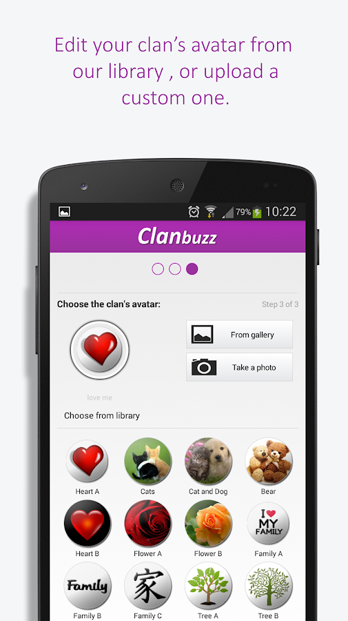 ClanBuzz- screenshot