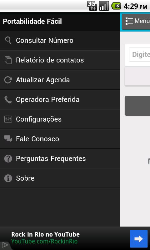 Portabilidade Facil Free- screenshot
