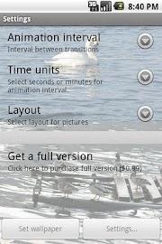 SlideShow live wallpaper lite Screenshot 3