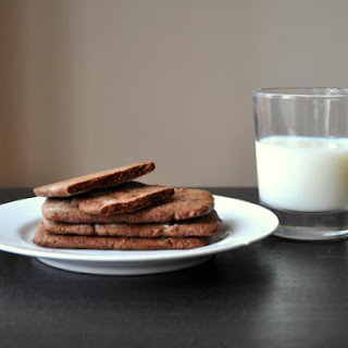 "Chocolate Coffee ""Graham"" Crackers"
