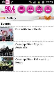 Cosmopolitan FM- screenshot thumbnail