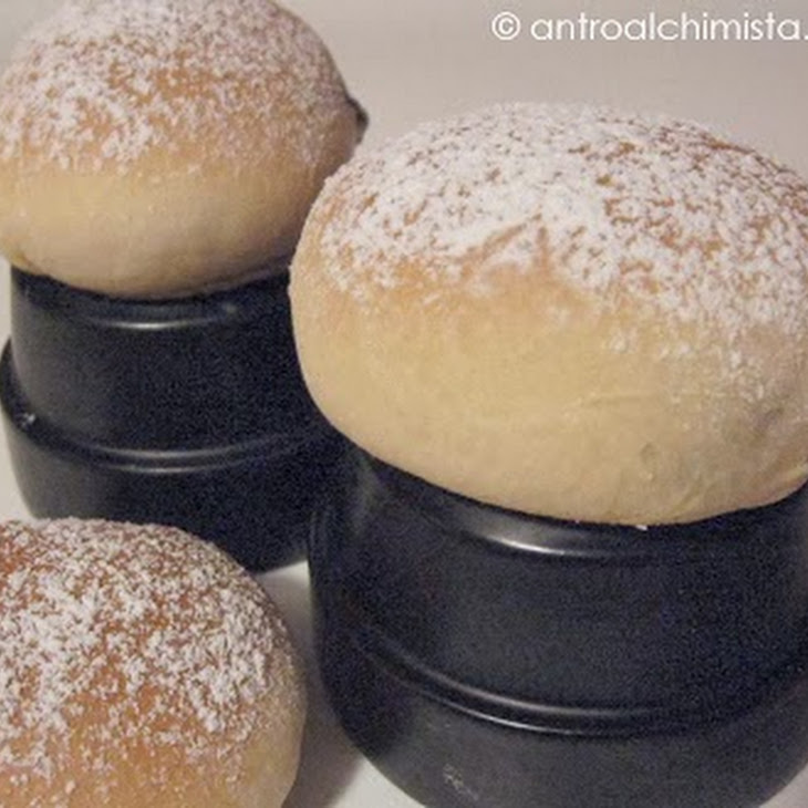 Baked Krapfen with Filling