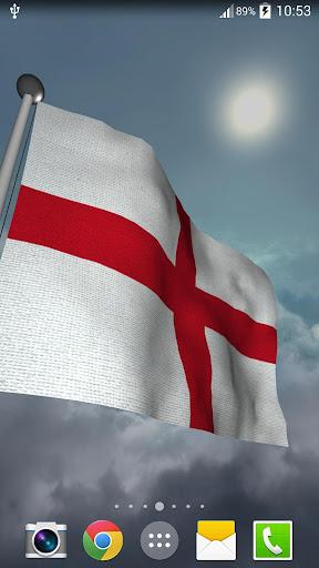 England Flag + LWP