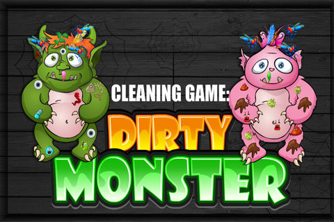 Cleaning Game : Dirty Monster 1.2.0 screenshots 1