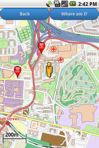 Glasgow Amenities Map (free)  screenshots 2