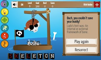 Screenshot of Hangman Deluxe Premium
