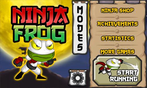 Ninja Frog Run v1.0.1
