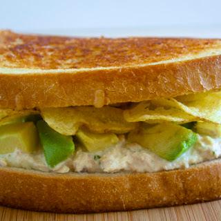 Lemon-Tarragon Tuna Melt with Provolone