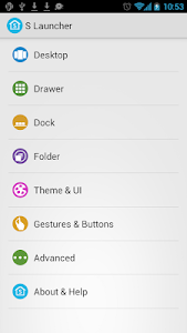 S Launcher (Galaxy S5 Launcher v2.6