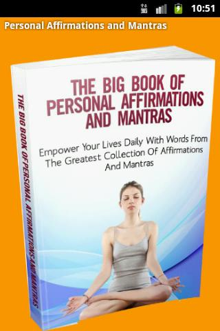Personal Affirmations Mantras
