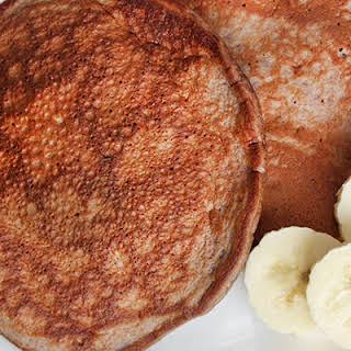 Chocolate-Banana Protein Pancake.