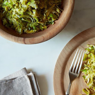 Union Square Café's Hashed Brussels Sprouts with Poppy Seeds and Lemon