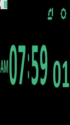 數字表時鐘