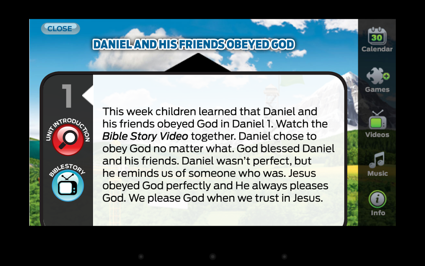 The Gospel Project: Kids- screenshot