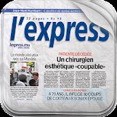 L'Express (La Sentinelle LTD)
