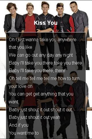 One Direction Top Song Karaoke - screenshot