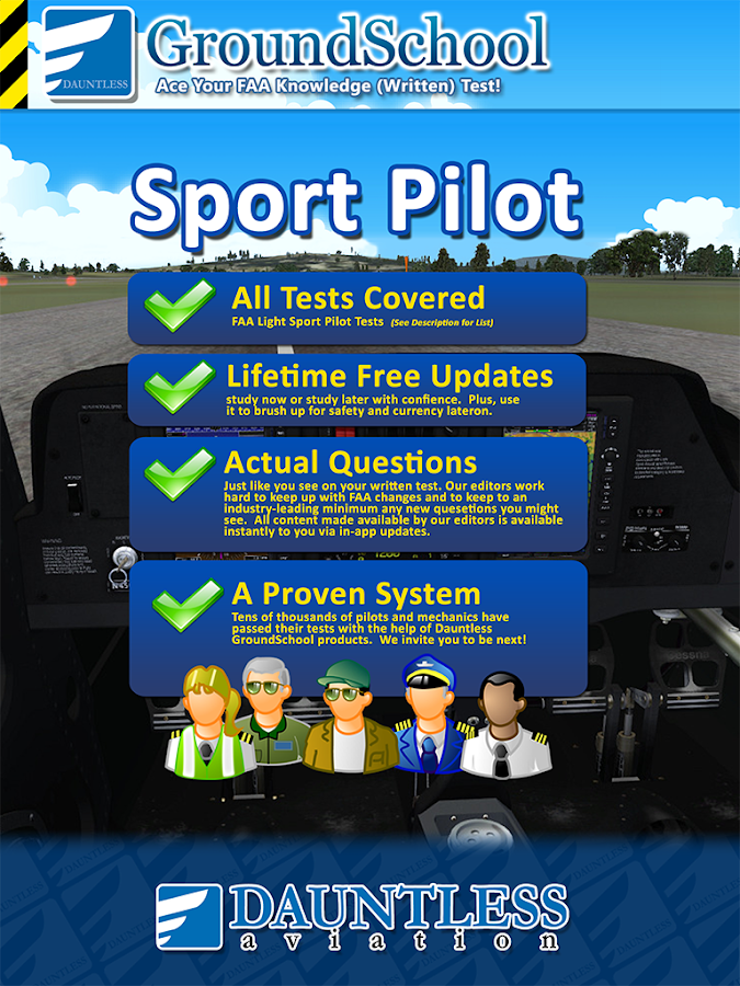 FAA Sport Pilot Test Prep - screenshot
