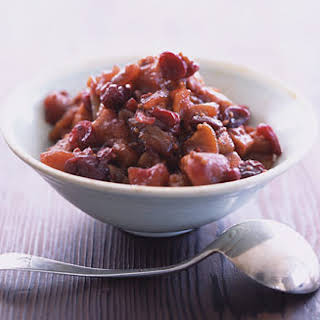 Apple and Cranberry Chutney.